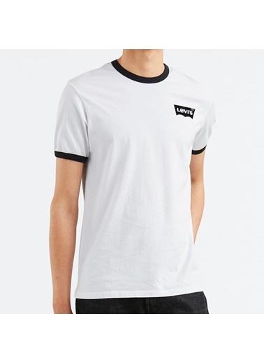 Levi's® Erkek Tişört Ringer 39969-0024 Beyaz